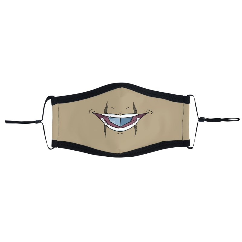 Silvertongue Face Mask Accessories Face Mask by Swords Comics : The Store