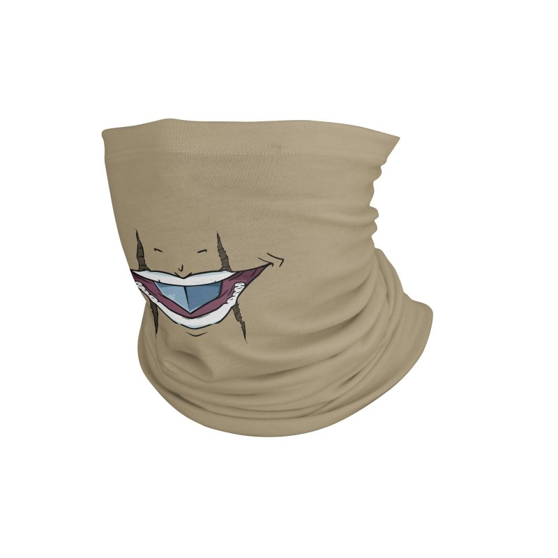 Silvertongue Face Mask Accessories Neck Gaiter by Swords Comics : The Store