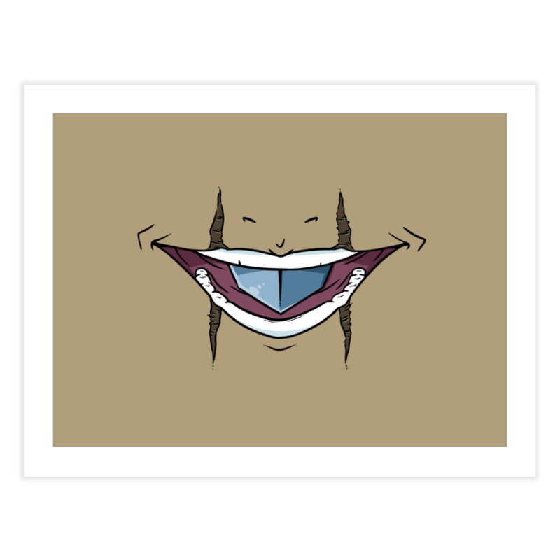 Silvertongue Face Mask Home Fine Art Print by Swords Comics : The Store