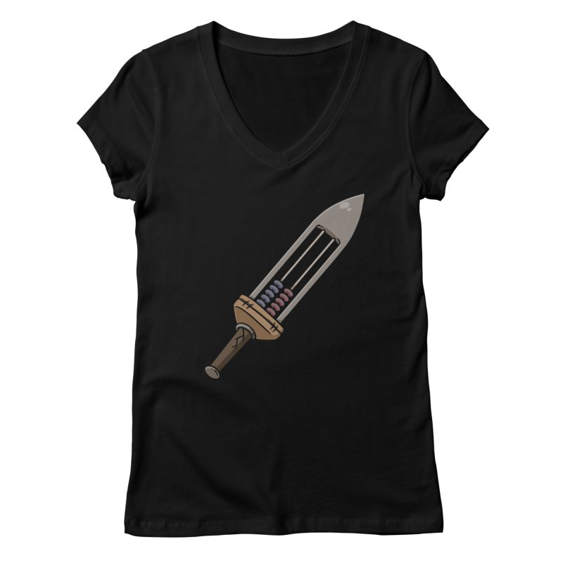 Stabacus Women's V-Neck by Swords Comics : The Store