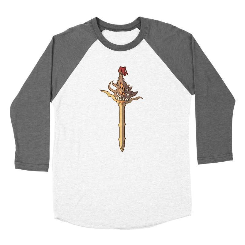 Demon Sword of Absolute Fury Women's Longsleeve T-Shirt by Swords Comics : The Store