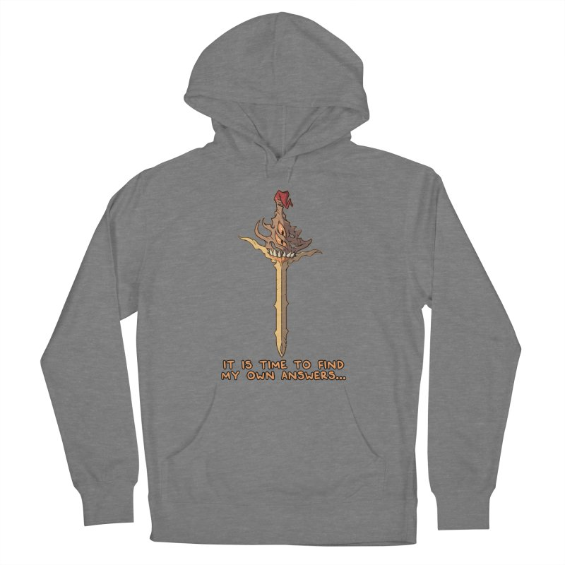 Demon Sword of Absolute Fury Quote Edition Women's Pullover Hoody by Swords Comics : The Store