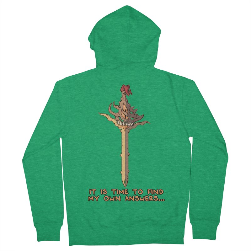 Demon Sword of Absolute Fury Quote Edition Women's Zip-Up Hoody by Swords Comics : The Store