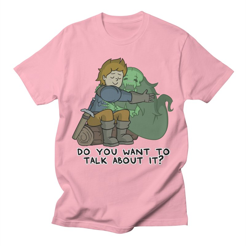 Do You Want To Talk About It? Quote Edition Women's T-Shirt by Swords Comics : The Store
