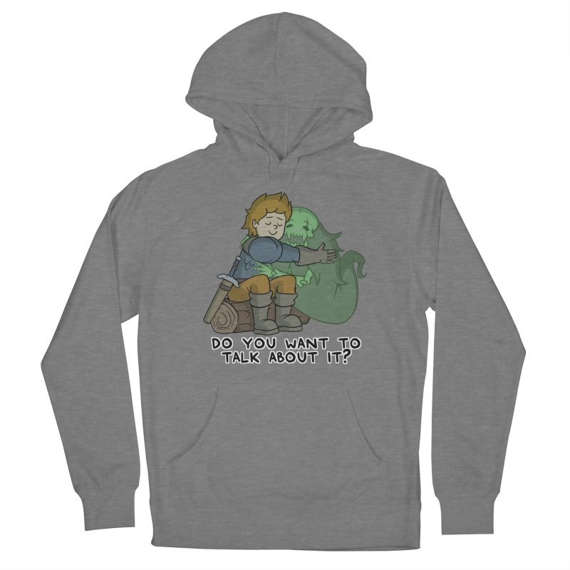 Do You Want To Talk About It? Quote Edition Women's Pullover Hoody by Swords Comics : The Store