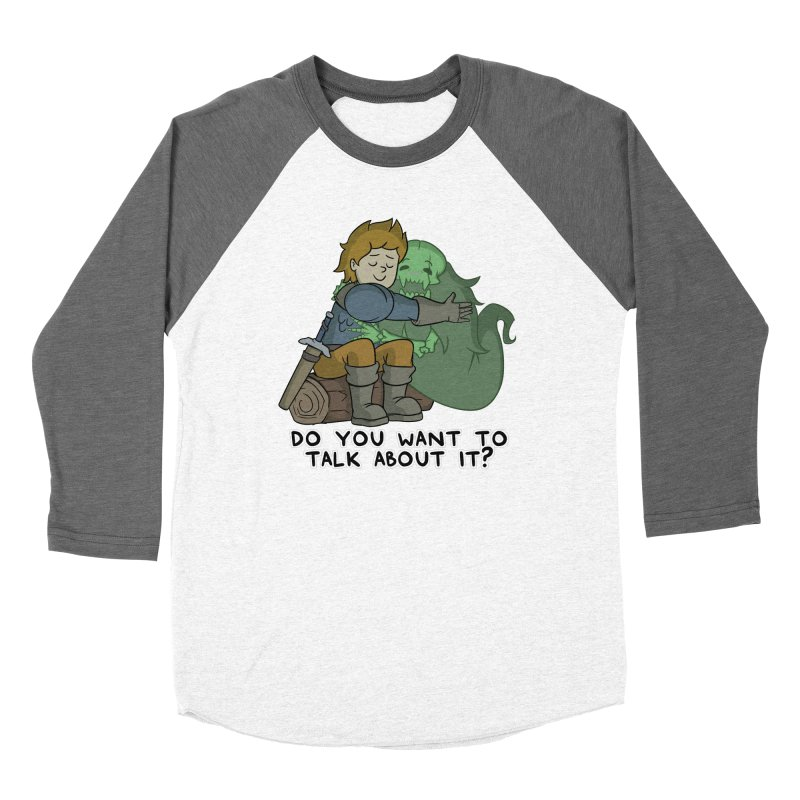 Do You Want To Talk About It? Quote Edition Women's Longsleeve T-Shirt by Swords Comics : The Store