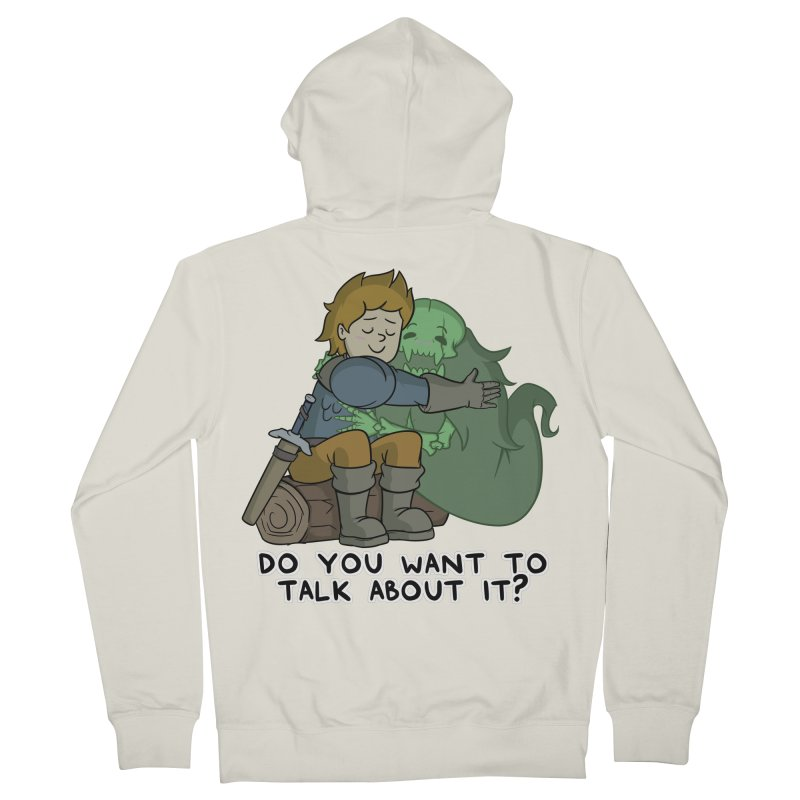 Do You Want To Talk About It? Quote Edition Women's Zip-Up Hoody by Swords Comics : The Store