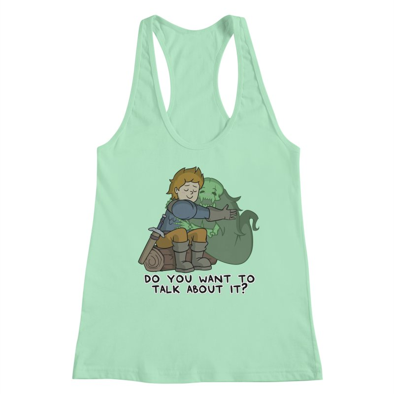 Do You Want To Talk About It? Quote Edition Women's Tank by Swords Comics : The Store