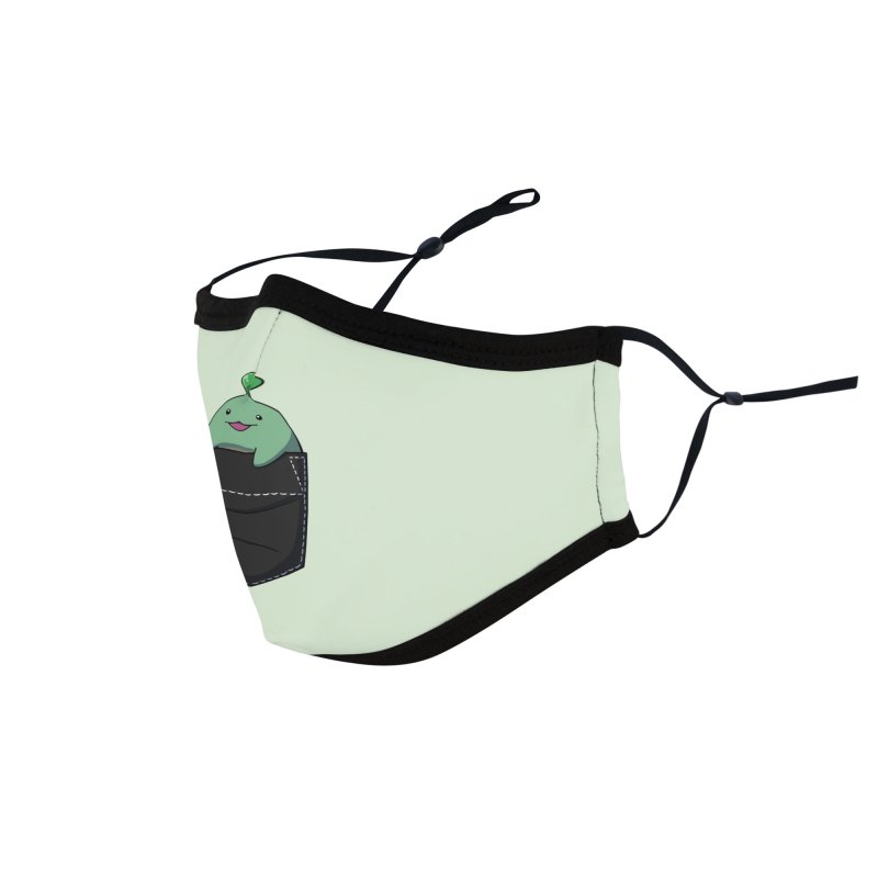 Pocket Sprout Accessories Face Mask by Swords Comics : The Store