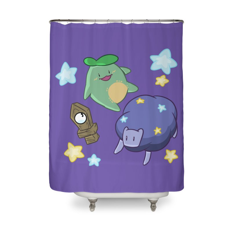 Dream Realm Home Shower Curtain by Swords Comics : The Store