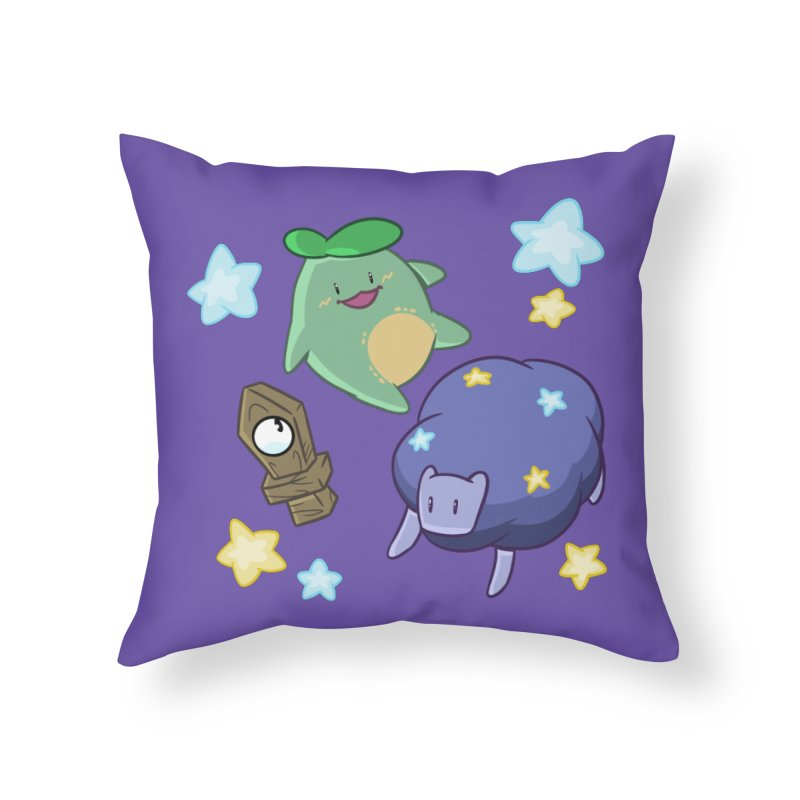 Dream Realm Home Throw Pillow by Swords Comics : The Store
