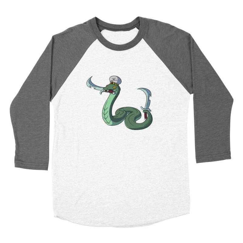Would A Snake Hold A Sword Like This? Women's Longsleeve T-Shirt by Swords Comics : The Store