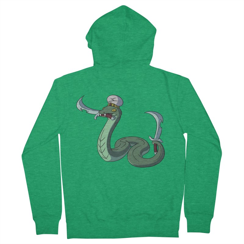 Would A Snake Hold A Sword Like This? Women's Zip-Up Hoody by Swords Comics : The Store
