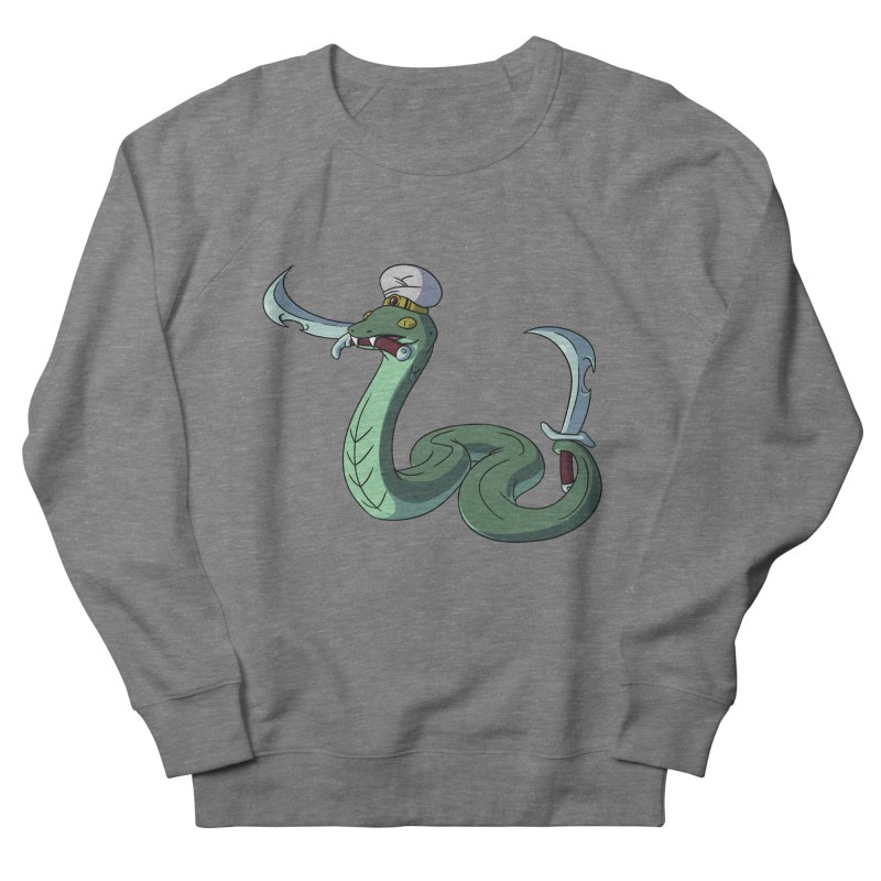 Would A Snake Hold A Sword Like This? Women's Sweatshirt by Swords Comics : The Store