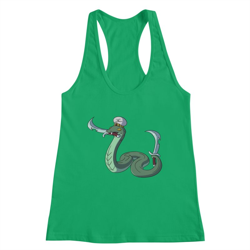 Would A Snake Hold A Sword Like This? Women's Tank by Swords Comics : The Store