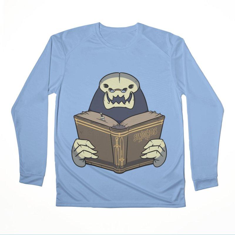 Kargob, God of Darkness Men's Longsleeve T-Shirt by Swords Comics : The Store
