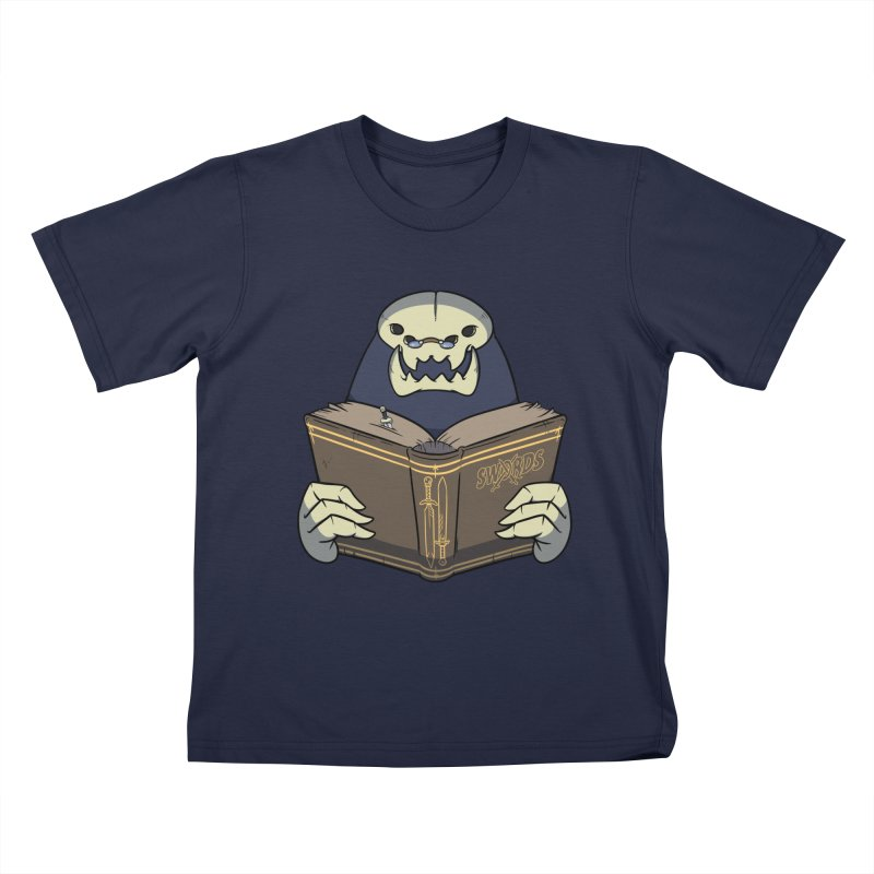 Kargob, God of Darkness Kids T-Shirt by Swords Comics : The Store