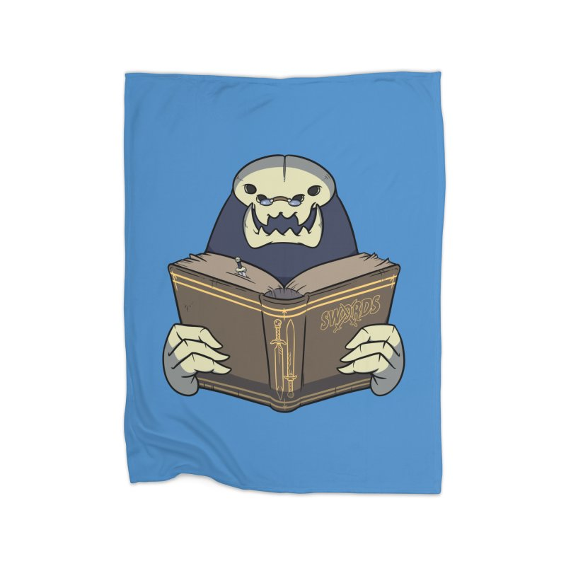 Kargob, God of Darkness Home Blanket by Swords Comics : The Store