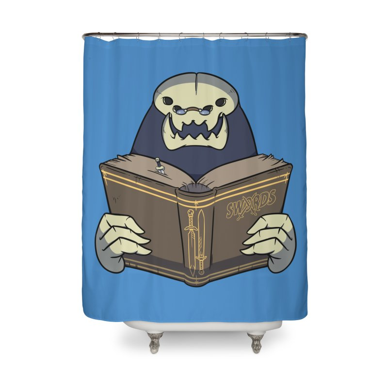 Kargob, God of Darkness Home Shower Curtain by Swords Comics : The Store
