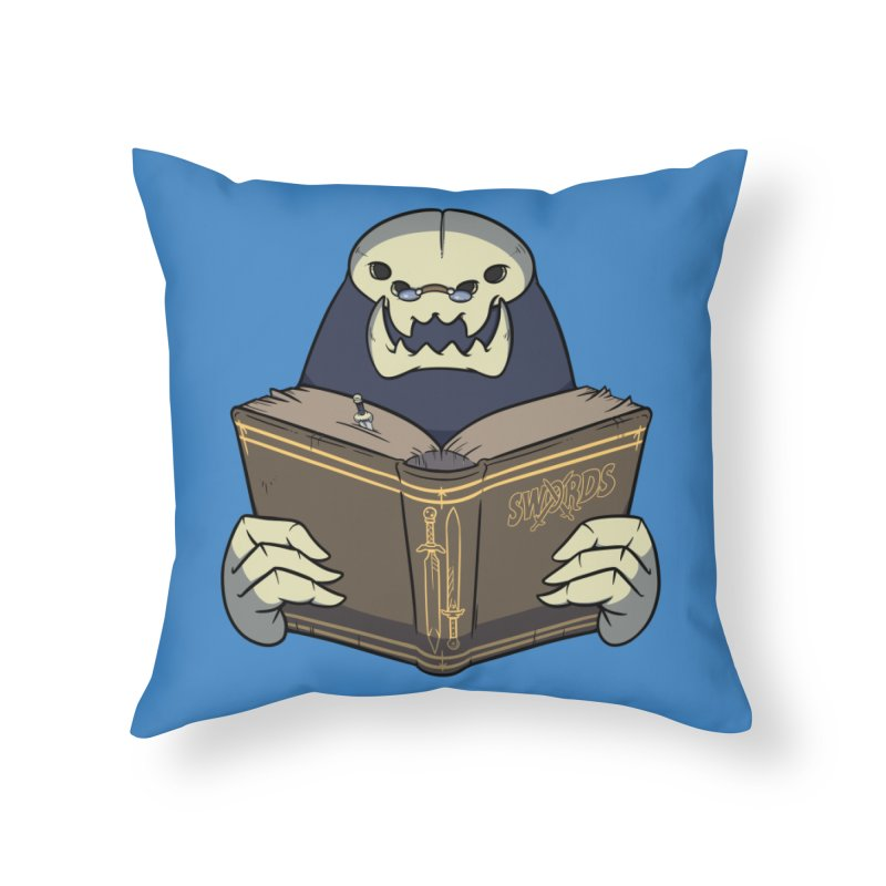 Kargob, God of Darkness Home Throw Pillow by Swords Comics : The Store