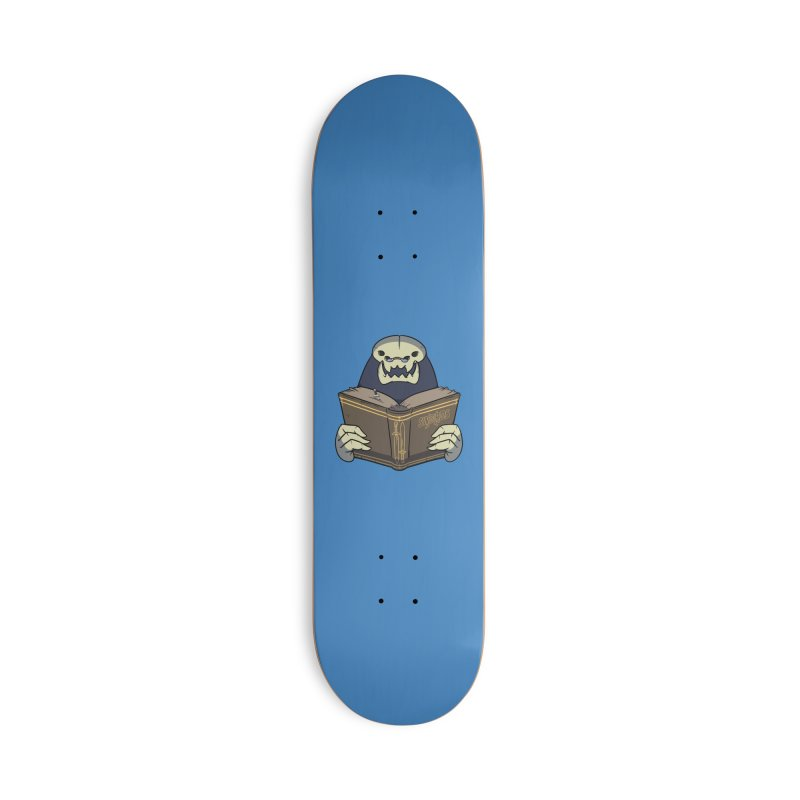 Kargob, God of Darkness Accessories Skateboard by Swords Comics : The Store