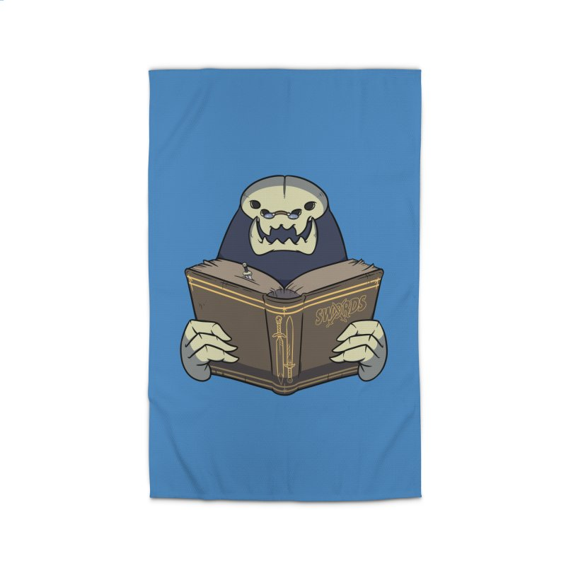 Kargob, God of Darkness Home Rug by Swords Comics : The Store