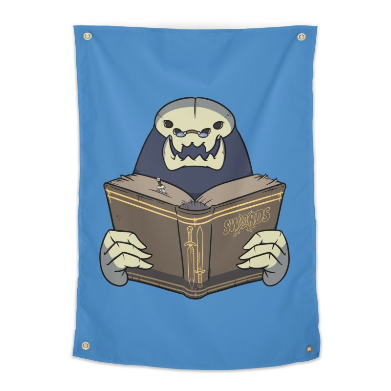 Kargob, God of Darkness Home Tapestry by Swords Comics : The Store