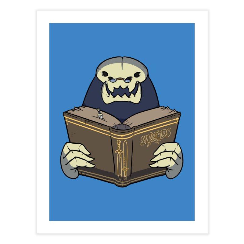 Kargob, God of Darkness Home Fine Art Print by Swords Comics : The Store