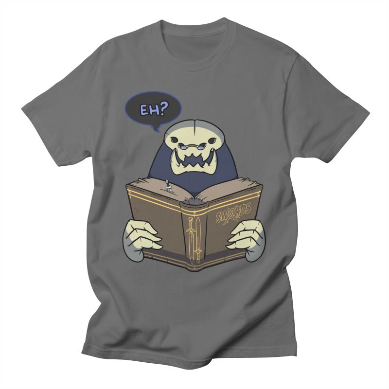 Kargob, God of Darkness Quote Edition Men's T-Shirt by Swords Comics : The Store