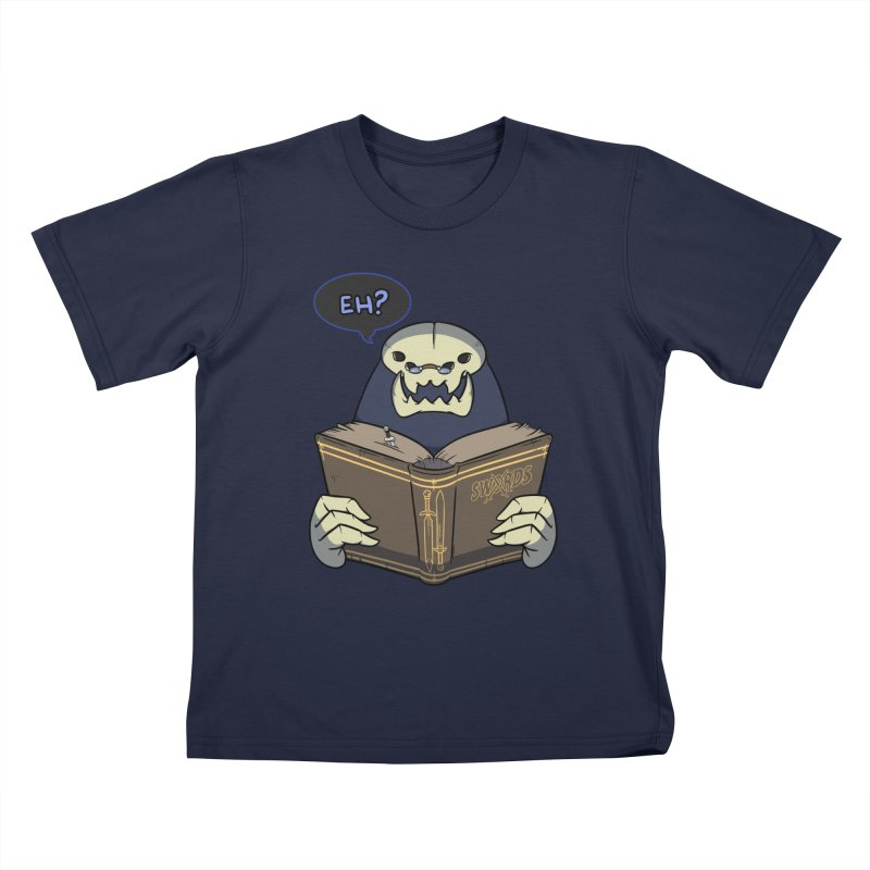 Kargob, God of Darkness Quote Edition Kids T-Shirt by Swords Comics : The Store