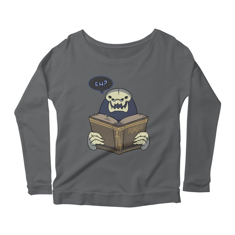 Kargob, God of Darkness Quote Edition Women's Longsleeve T-Shirt by Swords Comics : The Store