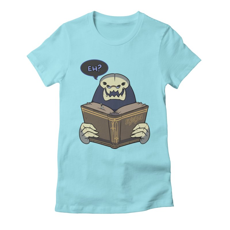 Kargob, God of Darkness Quote Edition Women's T-Shirt by Swords Comics : The Store