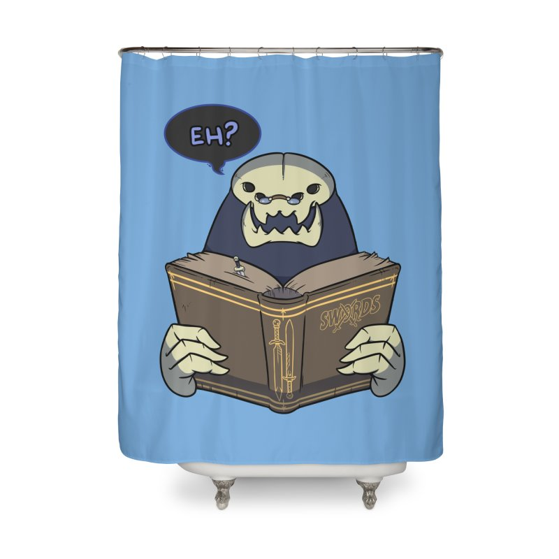 Kargob, God of Darkness Quote Edition Home Shower Curtain by Swords Comics : The Store