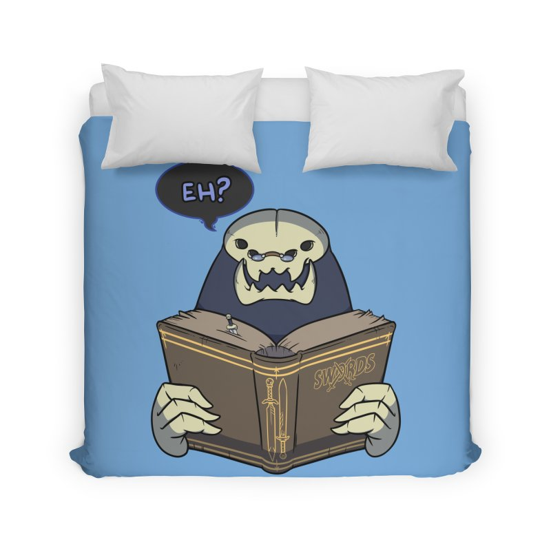 Kargob, God of Darkness Quote Edition Home Duvet by Swords Comics : The Store