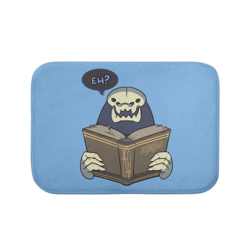 Kargob, God of Darkness Quote Edition Home Bath Mat by Swords Comics : The Store