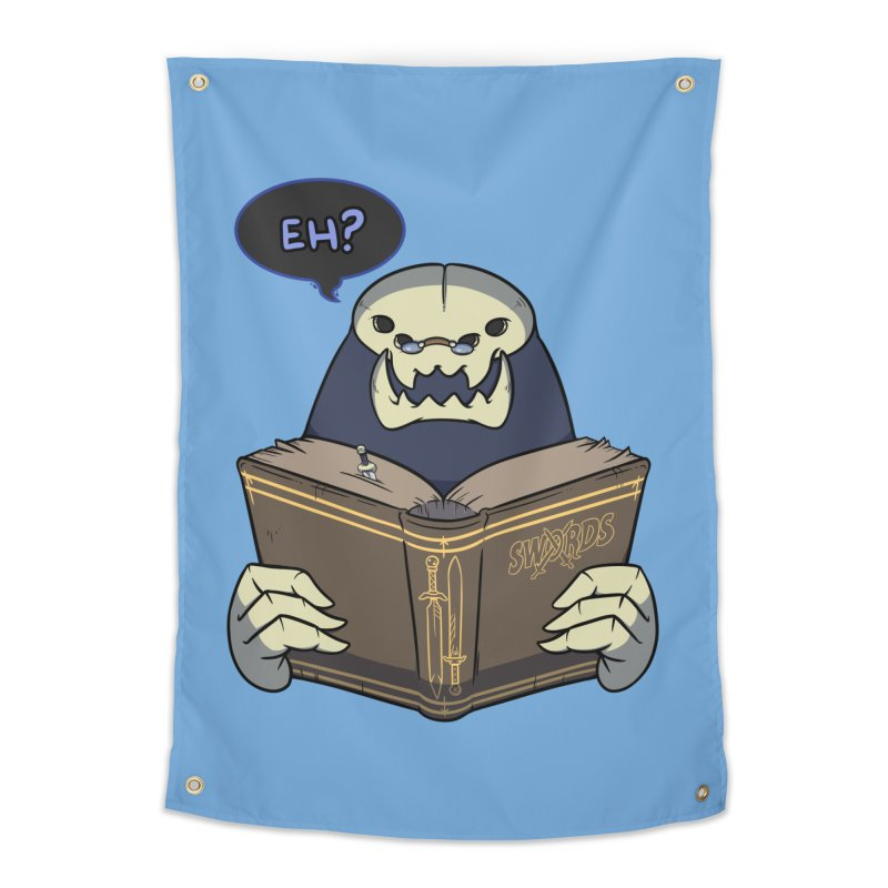 Kargob, God of Darkness Quote Edition Home Tapestry by Swords Comics : The Store