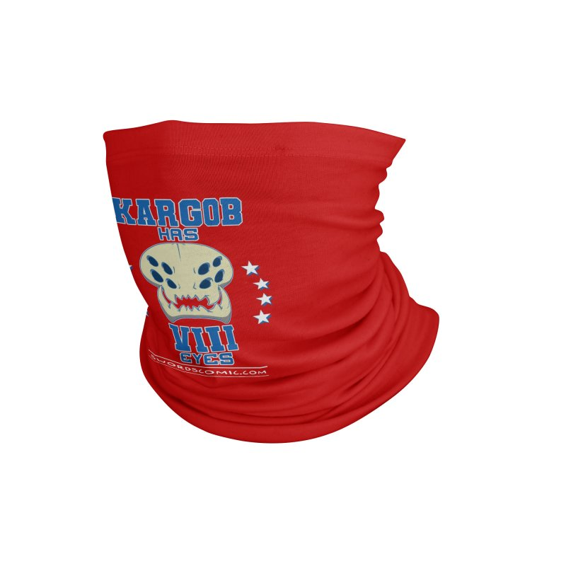 Team VIII Eyes Accessories Neck Gaiter by Swords Comics : The Store