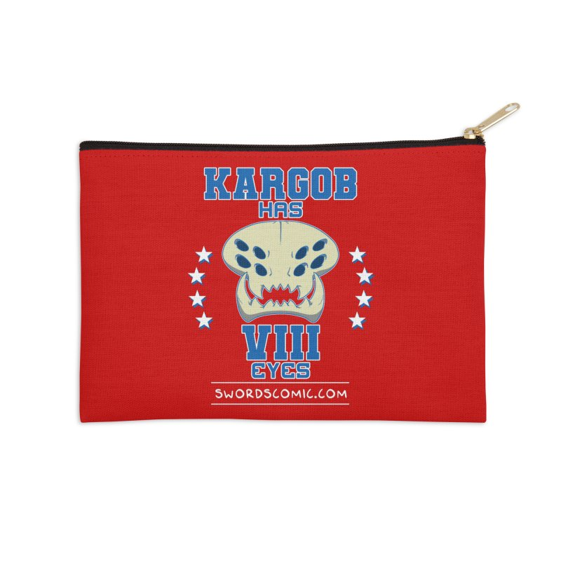 Team VIII Eyes Accessories Zip Pouch by Swords Comics : The Store