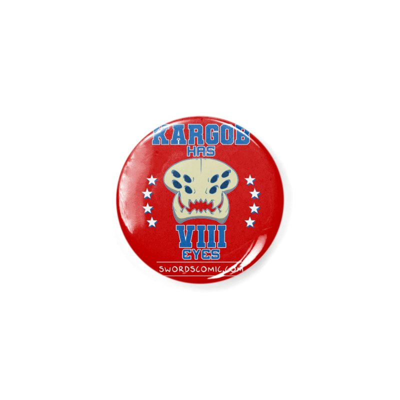 Team VIII Eyes Accessories Button by Swords Comics : The Store