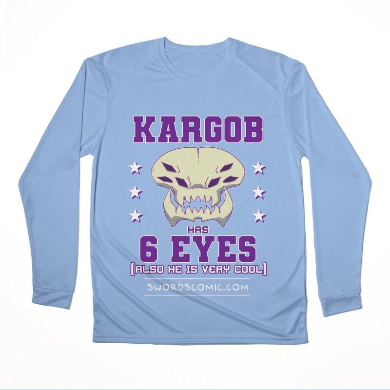 Team VI Eyes Men's Longsleeve T-Shirt by Swords Comics : The Store