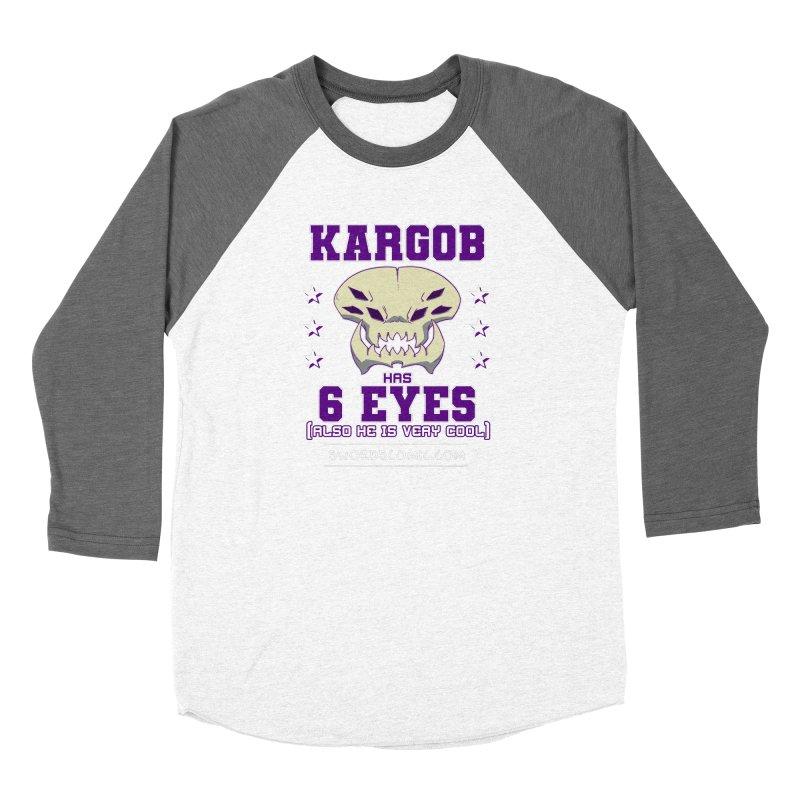 Team VI Eyes Women's Longsleeve T-Shirt by Swords Comics : The Store