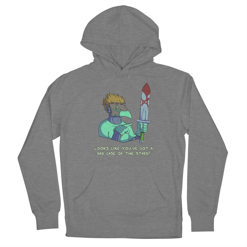 Plague Doctor Quote Edition (w/ Bloody Sword) Women's Pullover Hoody by Swords Comics : The Store