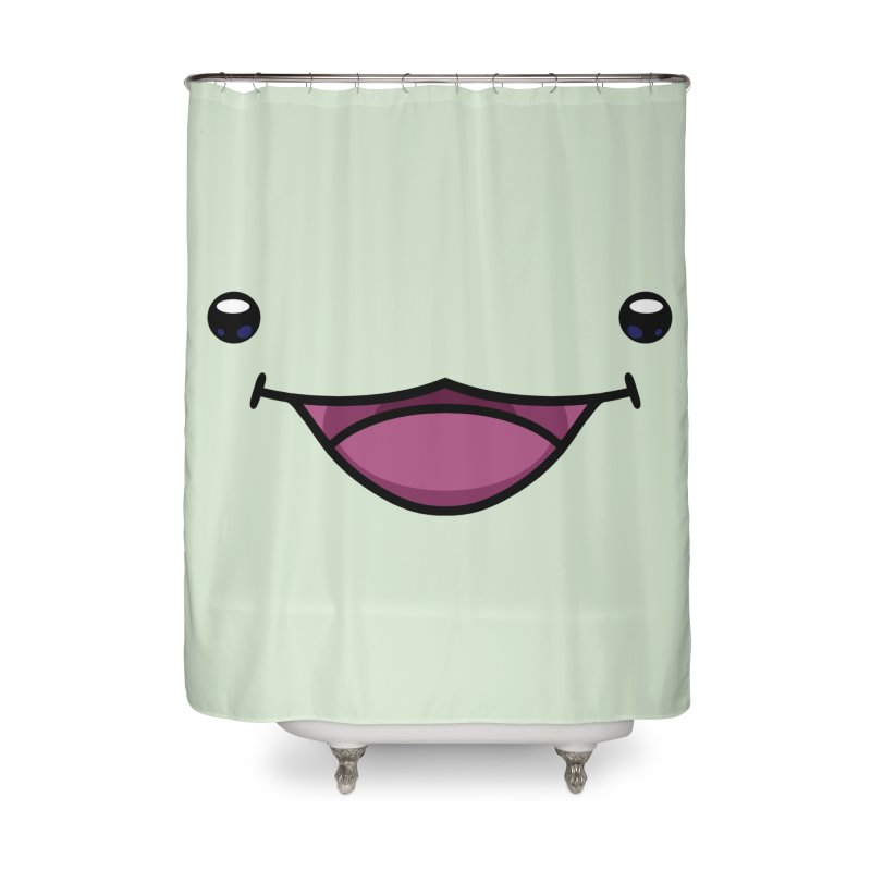 Quest Sprout Face Home Shower Curtain by Swords Comics : The Store