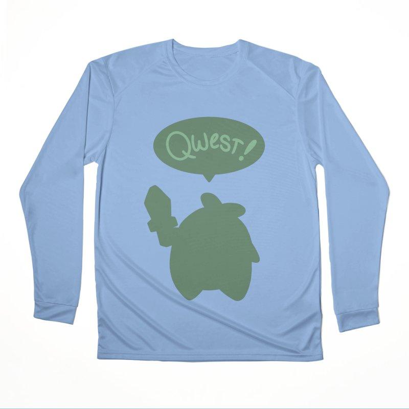 Subtle Qwest Men's Longsleeve T-Shirt by Swords Comics : The Store