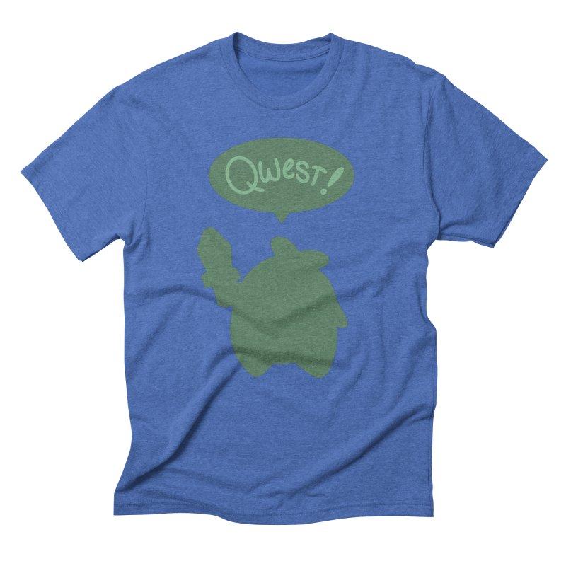 Subtle Qwest Men's T-Shirt by Swords Comics : The Store