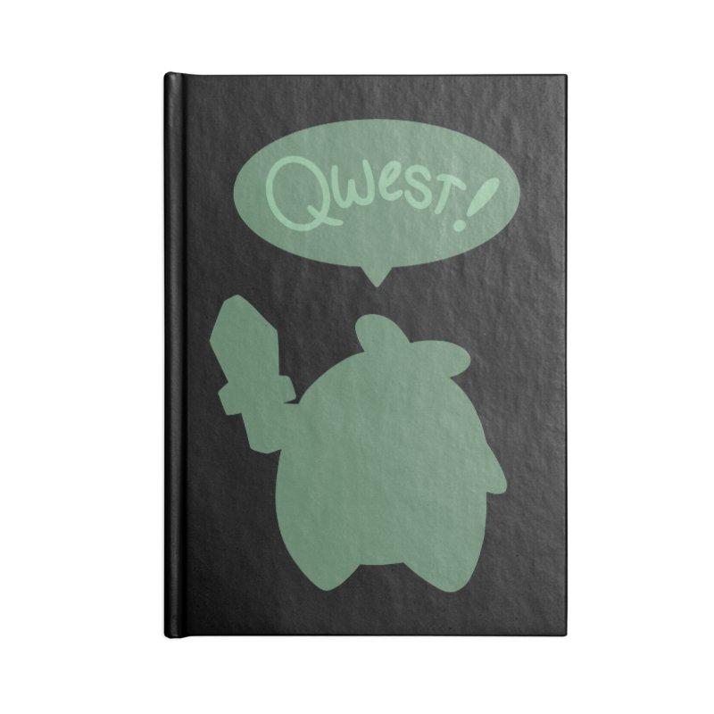 Subtle Qwest Accessories Notebook by Swords Comics : The Store