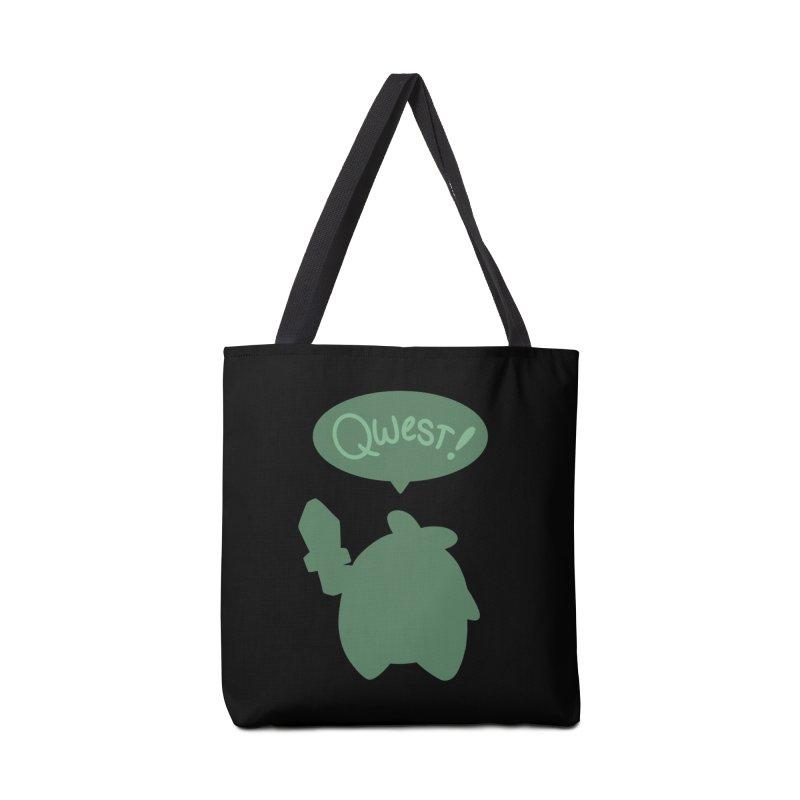 Subtle Qwest Accessories Bag by Swords Comics : The Store