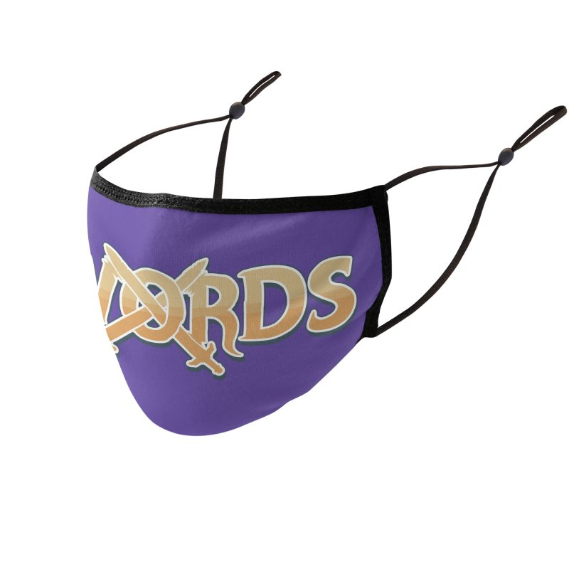 Swords Logo Accessories Face Mask by Swords Comics : The Store