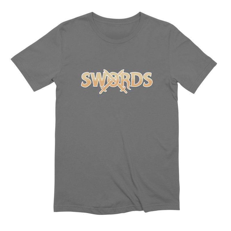 Swords Logo Men's T-Shirt by Swords Comics : The Store
