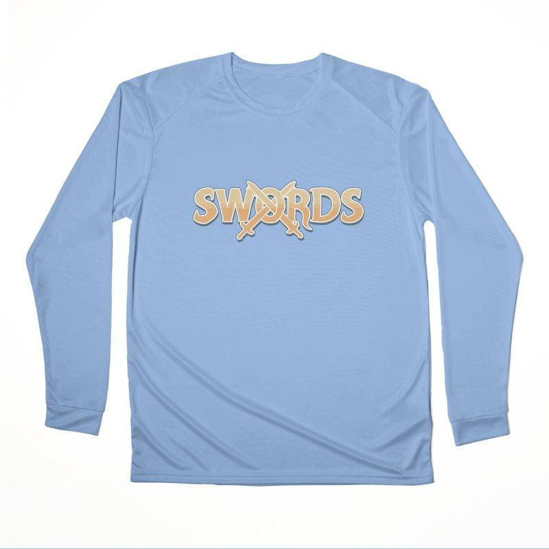 Swords Logo Men's Longsleeve T-Shirt by Swords Comics : The Store